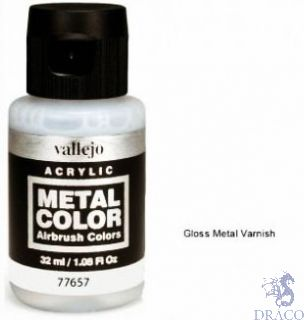 Vallejo Metal Color 57: Gloss Metal Varnish 32 ml.