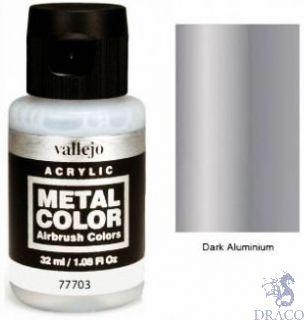 Vallejo Metal Color 03: Dark Aluminium 32 ml.