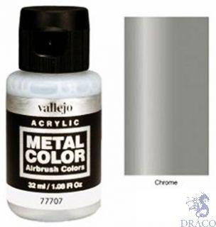 Vallejo Metal Color 07: Chrome 32 ml.