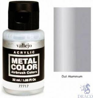 Vallejo Metal Color 17: Dull Aluminium 32 ml.