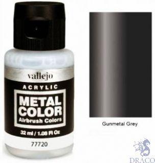 Vallejo Metal Color 20: Gunmetal Grey 32 ml.