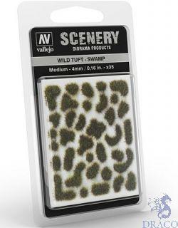 Vallejo Scenery 405: Wild Tuft - Swamp (Medium)