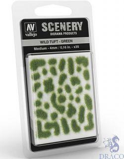 Vallejo Scenery 406: Wild Tuft - Green (Medium)
