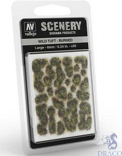 Vallejo Scenery 414: Wild Tuft - Burned (Large)