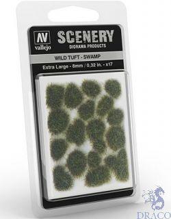 Vallejo Scenery 422: Wild Tuft - Swamp (Extra large)